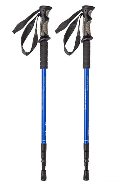 BAFX Products Anti Shock Hiking Poles review