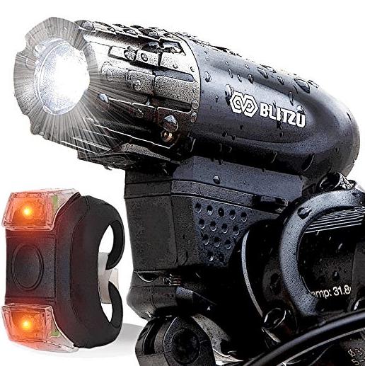 BLITZU Gator 320 USB Rechargeable Bike Light review