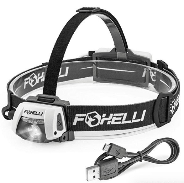 Foxelli USB Rechargeable Headlamp 280 Lumen review