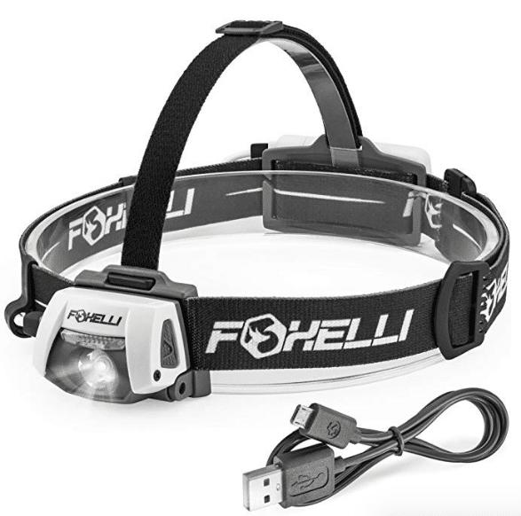 Foxelli USB Rechargeable Headlamp 280 Lumen review