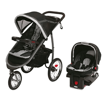 Graco Fastaction Fold Jogger Click Connect Baby Travel System review