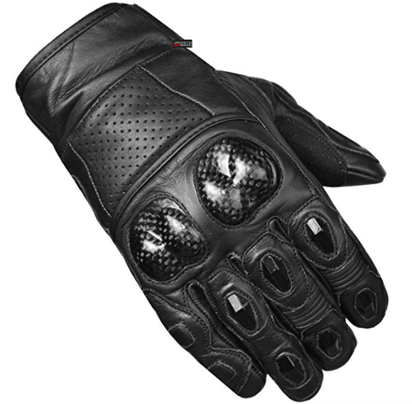 Men's Premium Leather Motorcycle Gloves review
