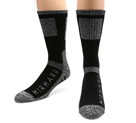 MIRMARU Men's Crew Socks review
