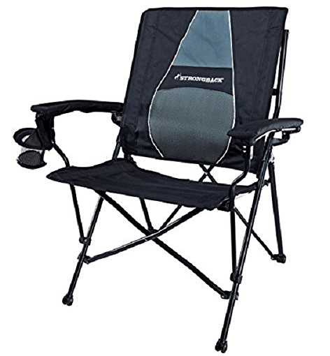 STRONGBACK Elite Folding Camping Chair with Lumbar Support review