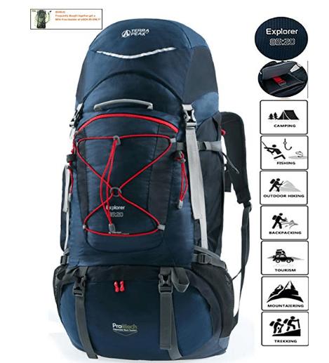 TERRA PEAK Adjustable Hiking Backpack review