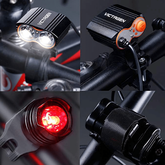 Victagen Bike Front Light & Tail Light review