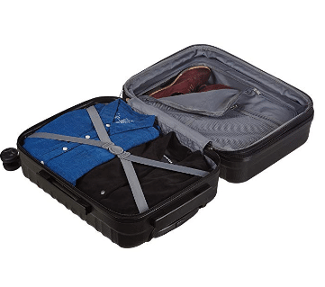 AmazonBasics Hardside Spinner Luggage review