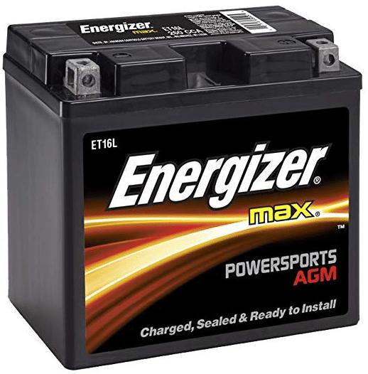 Energizer ET16L AGM review