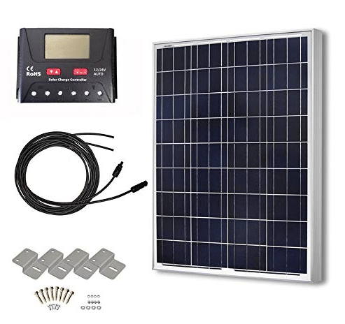 HQST 100 Watts Solar Panel Kit review