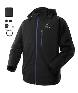Ororo Men's Soft Shell Heated Jacket review