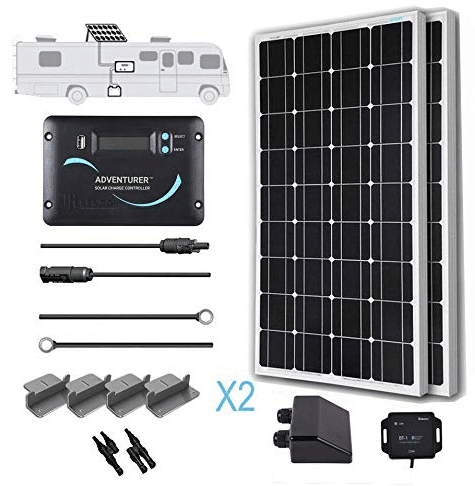 Renogy KIT-RV200D Solar Panel kit review