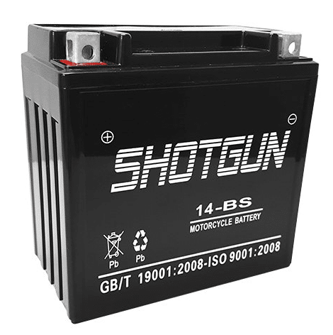 Shotgun YTX14-BS review