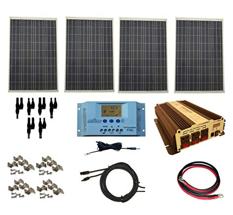 WindyNation Complete 400 Watt Solar Panel Kit review