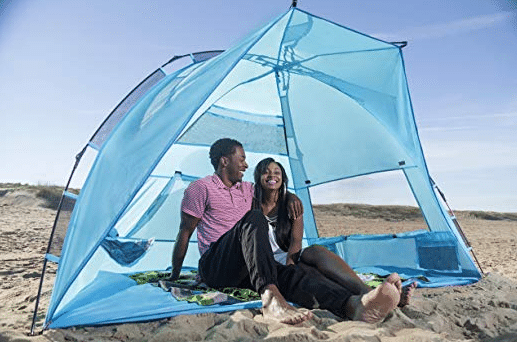 Arcshell Premium Extra Large Pop Up Beach Tent review