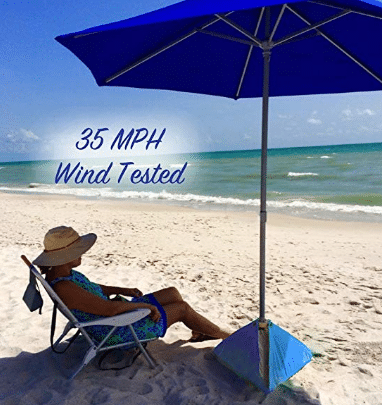 BEACHBUB All-in-One Beach Umbrella & The 5 Best Beach Umbrellas For Wind In 2019 | Byways