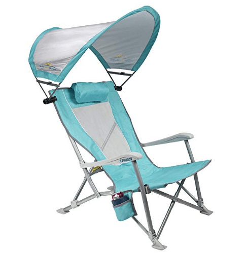 Fantastic The 5 Best Beach Chairs With Canopies In 2019 Byways Dailytribune Chair Design For Home Dailytribuneorg