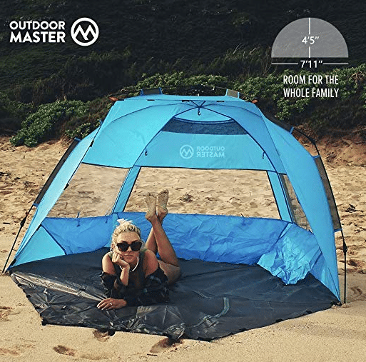 OutdoorMaster Pop Up Beach Tent review