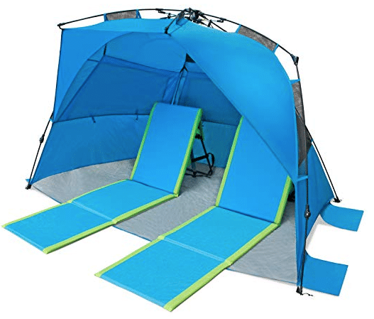 Pacific Breeze Deluxe XL Beach Tent review