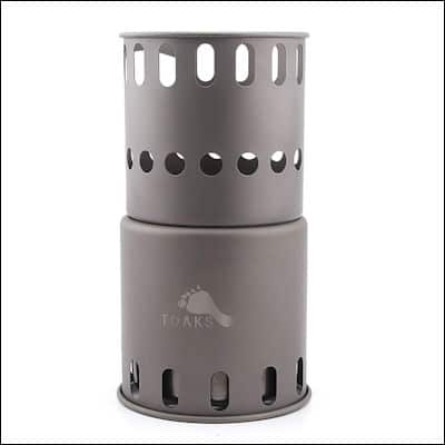 TOAKS Titanium Backpacking Wood Burning Stove review