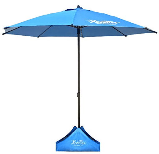 24e114476621 Xbrellas High Wind Resistant Beach Umbrella review. The Xbrellas High Wind  Resistant Beach Umbrella. Advertised as a heavy duty ...