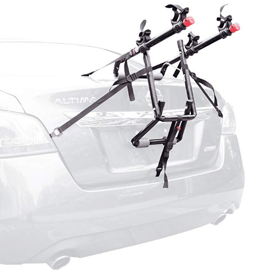 Allen Sports Deluxe Trunk Mounted Bike Rack review