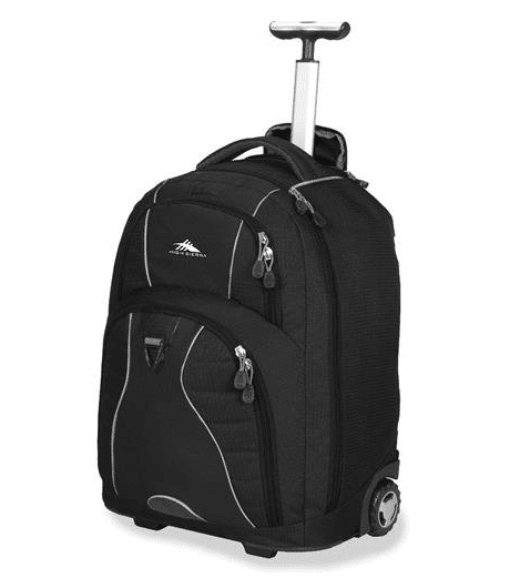 High Sierra Freewheel Wheeled Laptop Backpack review