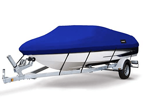 MSC Heavy Duty 600D Marine Grade Polyester Canvas Trailerable Waterproof Boat Cover review