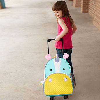 Skip Hop Kids Luggage with Wheels, Unicorn review