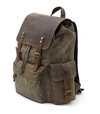 SUVOM Vintage Canvas Backpack review