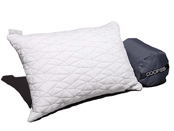 Coop Home Goods Camping Pillow review