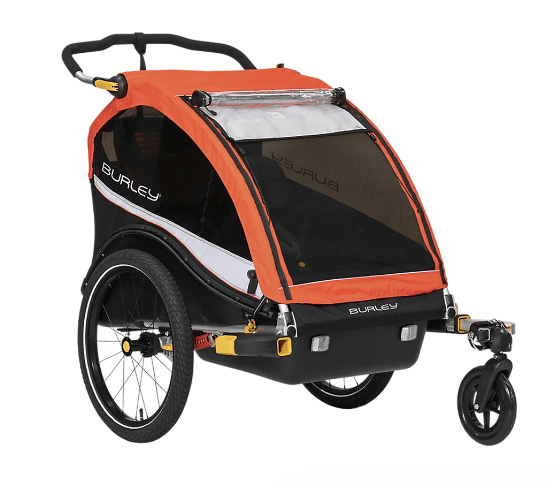 Burley Cub X Kid Trailer review