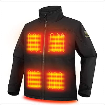 PTAHDUS Heated Jacket review
